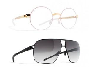 Modèle lunettes de soleil Mykita homme
